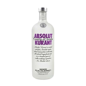 Picture of Absolut Kurant Vodka 40% (1L)