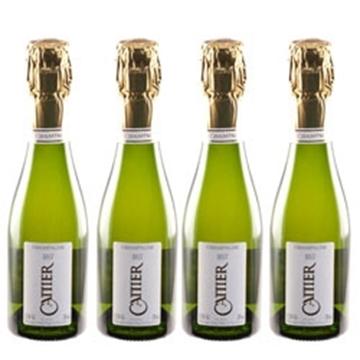 Picture of Cattier Champagne Brut (4x200 ml.)