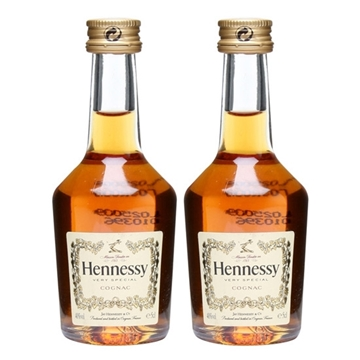 Picture of Hennessy V.S. Cognac Miniature (2 X 50 ml)