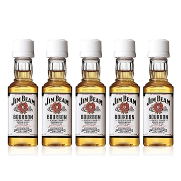 Picture of Jim Beam White Whisky Miniatures (5 cl X 5)