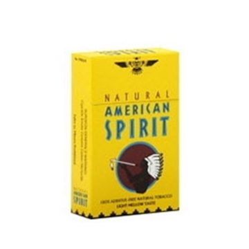 Picture of Natural American Spirit Cigarettes Yellow