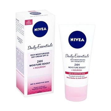 Picture of Nivea Visage Vital Triple Action Soy Replenishing Day Care 50ml