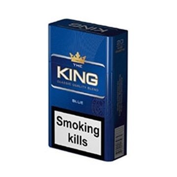 Picture of The King Blue Cigarettes