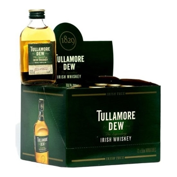 Picture of Tullamore Dew Whisky Miniatures (50 ML X 6)