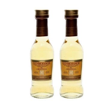 Picture of Glenmorangie Malt Whisky 10 Y.O. Miniature (5 cl X 2)