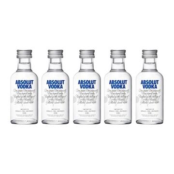 Picture of Absolut 40% Vodka Miniatures (5 cl X 5)