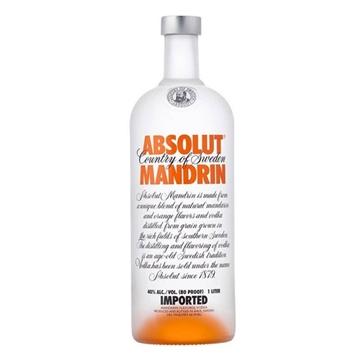 Picture of Absolut Mandarin Vodka 40% (1LT.)