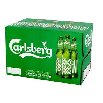 Picture of CARLSBERG BEER BTL 33 CL X 24