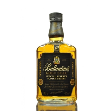 Picture of Ballantines 12 Years Old Gold Seal Whisky (1L) With Gift Box