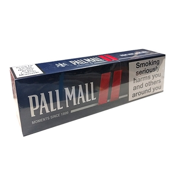 Picture of Pall Mall Blue Smooth Taste Cigarettes