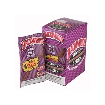 Picture of Backwoods Honey Berry cigars (8 packs of 5)