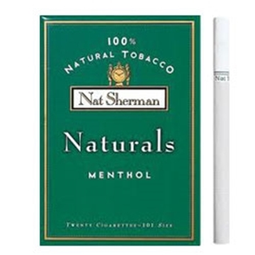 Picture of 100 Cigarettes Nat Sherman Naturals Menthol Cigarettes (1X100)