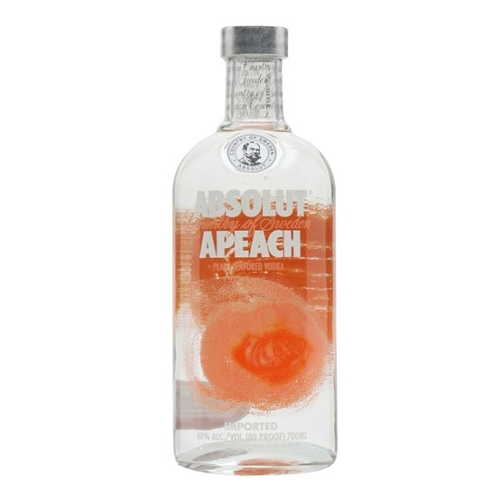 Picture of Absolut Peach Vodka 40% (1L)
