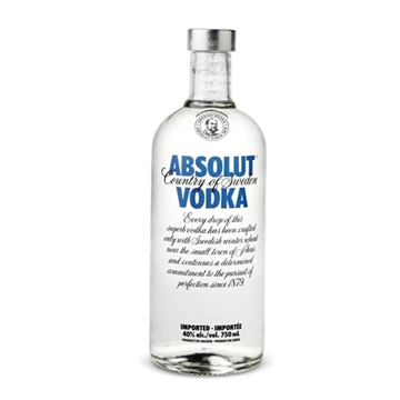 Picture of Absolut Vodka 40% (1L)