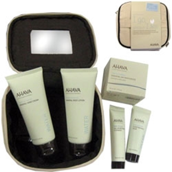 Picture of Ahava Care Kit: Body Lotion, Hand Cream, Day Moisturizer and All in OneToning Cleanser