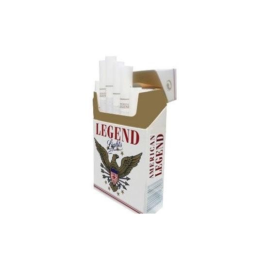 Picture of American Legend White Cigarettes