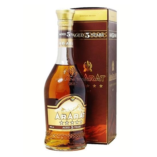 Picture of ARARAT 5 Y.O BRANDY 40%