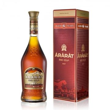 Picture of ARARAT PREMIUM 6 YO BRANDY 40%