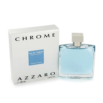 Picture of Azzaro Chrome Eau De Toilette Spray (100 ml./3.4 oz.)