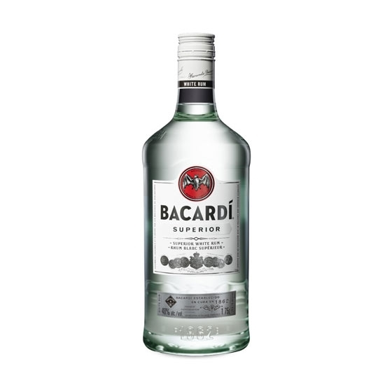 Picture of Bacardi White Rum 40% (1L)