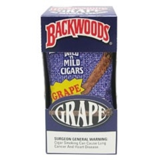 Picture of Backwoods Grape cigars (8 packs of 5)