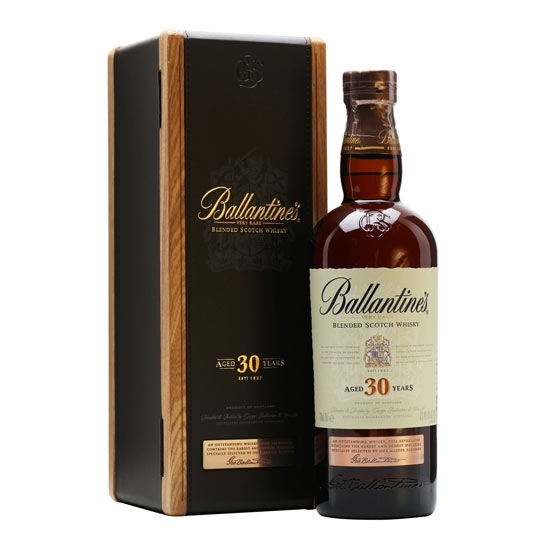 Picture of Ballantines Very Rare Blend Scotch Whisky 30 Y/O (700 ml.) With Gift Box