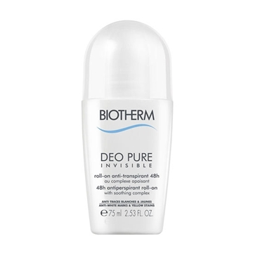 Picture of Biotherm Deodorant Pure Invisible Roll On  (75 ml./2.5 oz.)