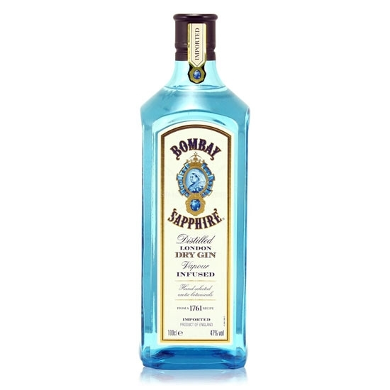 Picture of Bombay Sapphire Dry Gin 47% (1L)
