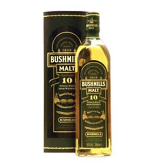 Picture of Bushmills Malt Irish 10 Years Old Whisky (1L) With Gift Box