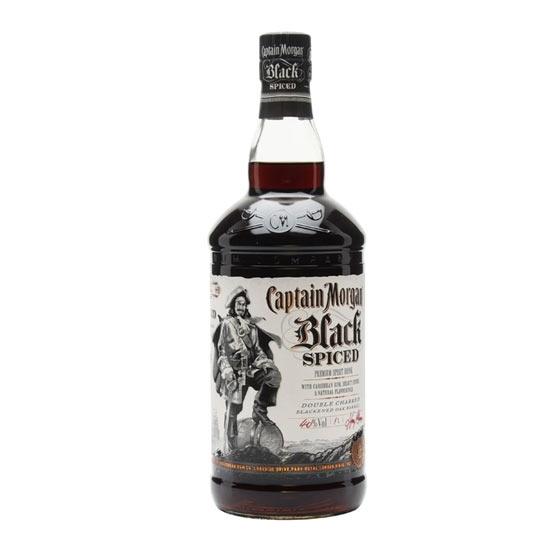 Picture of Captain Morgan Spiced Black Rum 1LT