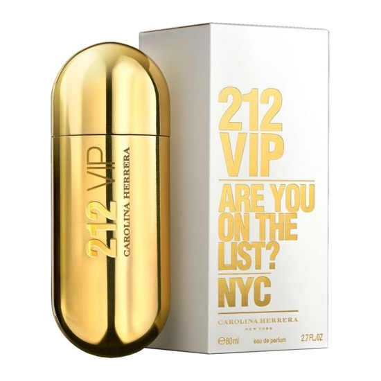 Picture of Carolina Herrera 212 VIP Eau De Parfum For Women (80 ml./2.7 oz.)