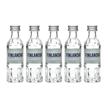 Picture of Finlandia 40% Vodka Miniatures (5 cl X 5)