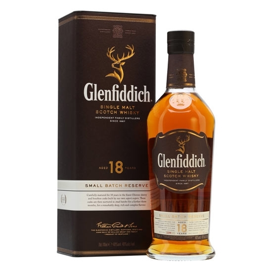 Picture of Glenfiddich 18 Year Old Single Malt Scotch Whisky (70 CL)