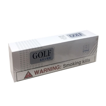 Picture of Golf Silver 100 Hard Pack Cigarettes