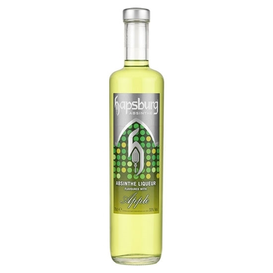 Picture of Hapsburg Absinthe Apple 33% (70 CL)