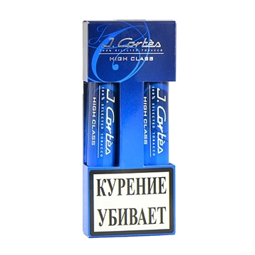 Picture of J.Cortes High Class Tube Cigars (5 packs of 5)