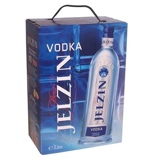 Picture of Jelzin Vodka 700 ML Coffret With 2 Glasses