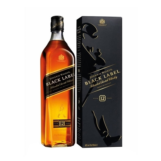 Picture of Johnnie Walker Black Label (1L) With Gift Box