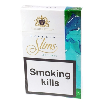 Picture of Karelia Omé Menthol 200 Superslim Filter Cigarettes