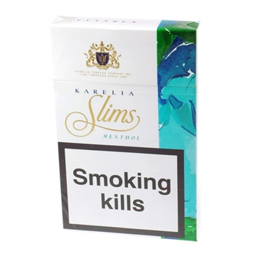 Picture of Karelia Slims Menthol Box