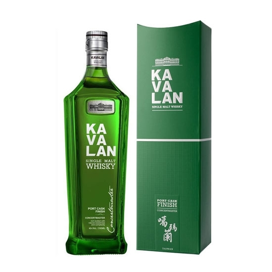 Picture of Kavalan Port Cask Finish Whisky 40% 70 CL