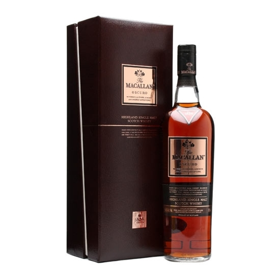 Picture of Macallan 1824 Oscuro Malt Whisky (700 ML) With Gift Box