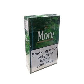 Picture of More International Menthol 120s Cigarette