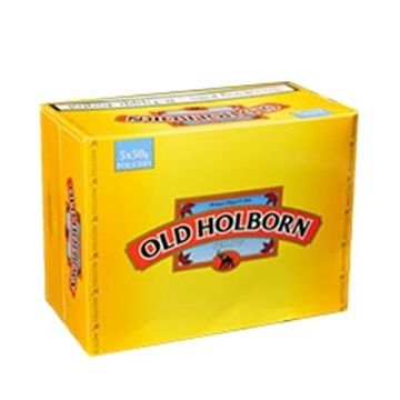 Picture of Old Holborn Yellow Rolling Tobacco (5 pouches of 50 gr. each)