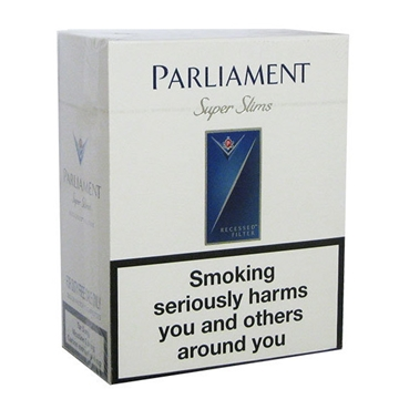 Picture of Parliament Super Slims Cigarettes