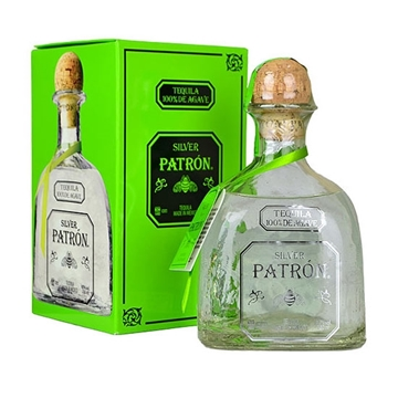 Picture of PATRON SILVER TEQUILA 40% 1 LT