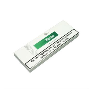 Picture of Winston XS Silver NanoKings (mini) Cigarettes
