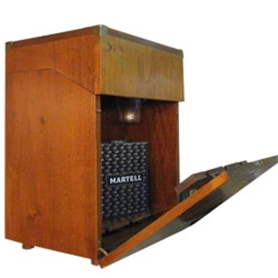 Picture of WOODEN BOX MINI BAR