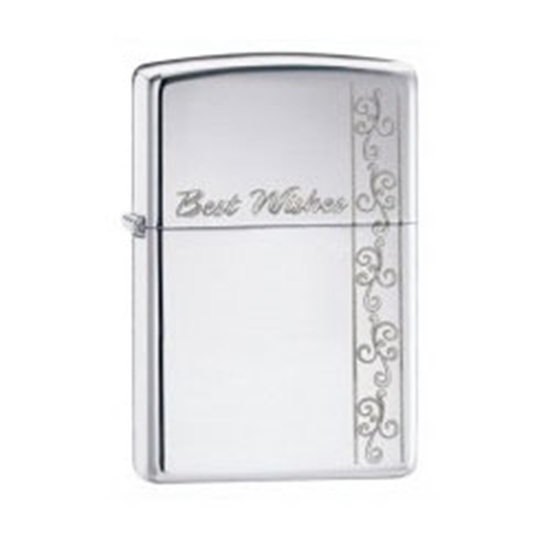 Picture of ZIPPO 24877 BEST WISHES LIGHTE