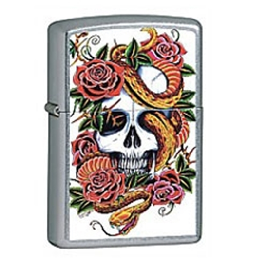 Picture of Zippo Street Chrome, Blooming Death 24321